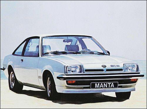 Opel 1978 Opel Manta Opel Vauxhall