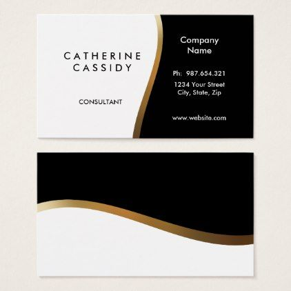 Two Sided Business Card Zazzle Com Business Card Minimalist Business Cards Elegant Professional Business Cards
