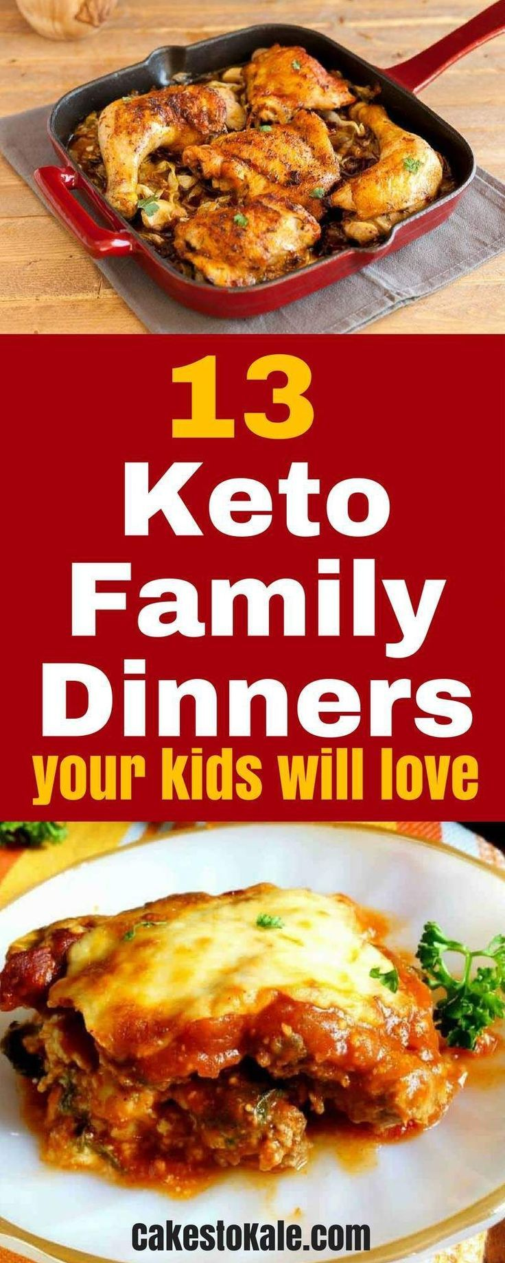 13 Easy Keto Family Meals - Low Carb Dinners