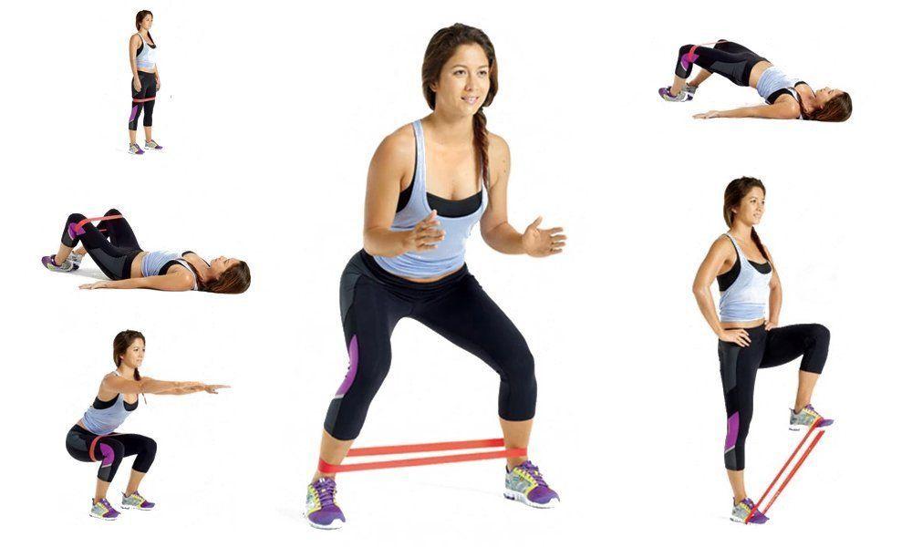 8 ejercicios con bandas elásticas para fortalecer todo el cuerpo ...