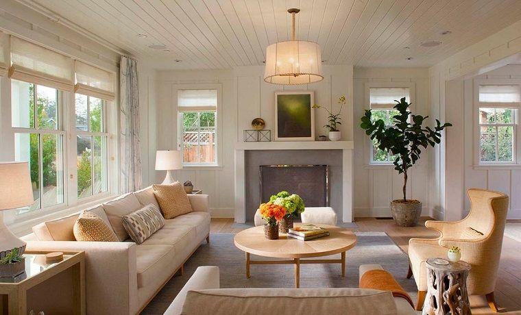Salones rusticos: 50 ideas perfectas para casas de campo | Rusticas ...