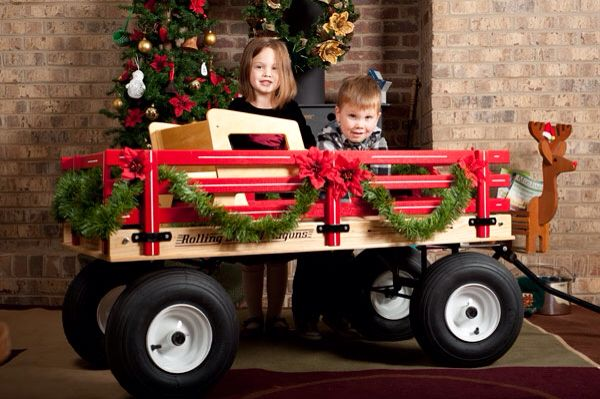 Wagon Decor For Parade Christmas Pictures Kids