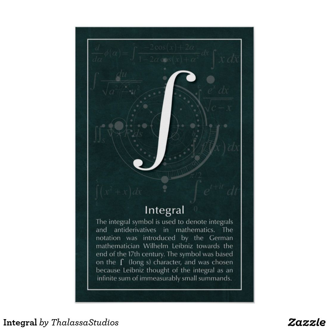 Integral Poster