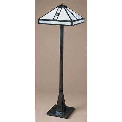"Arroyo Craftsman Pasadena Tiffany 60.38"" Floor Lamp Finish:"
