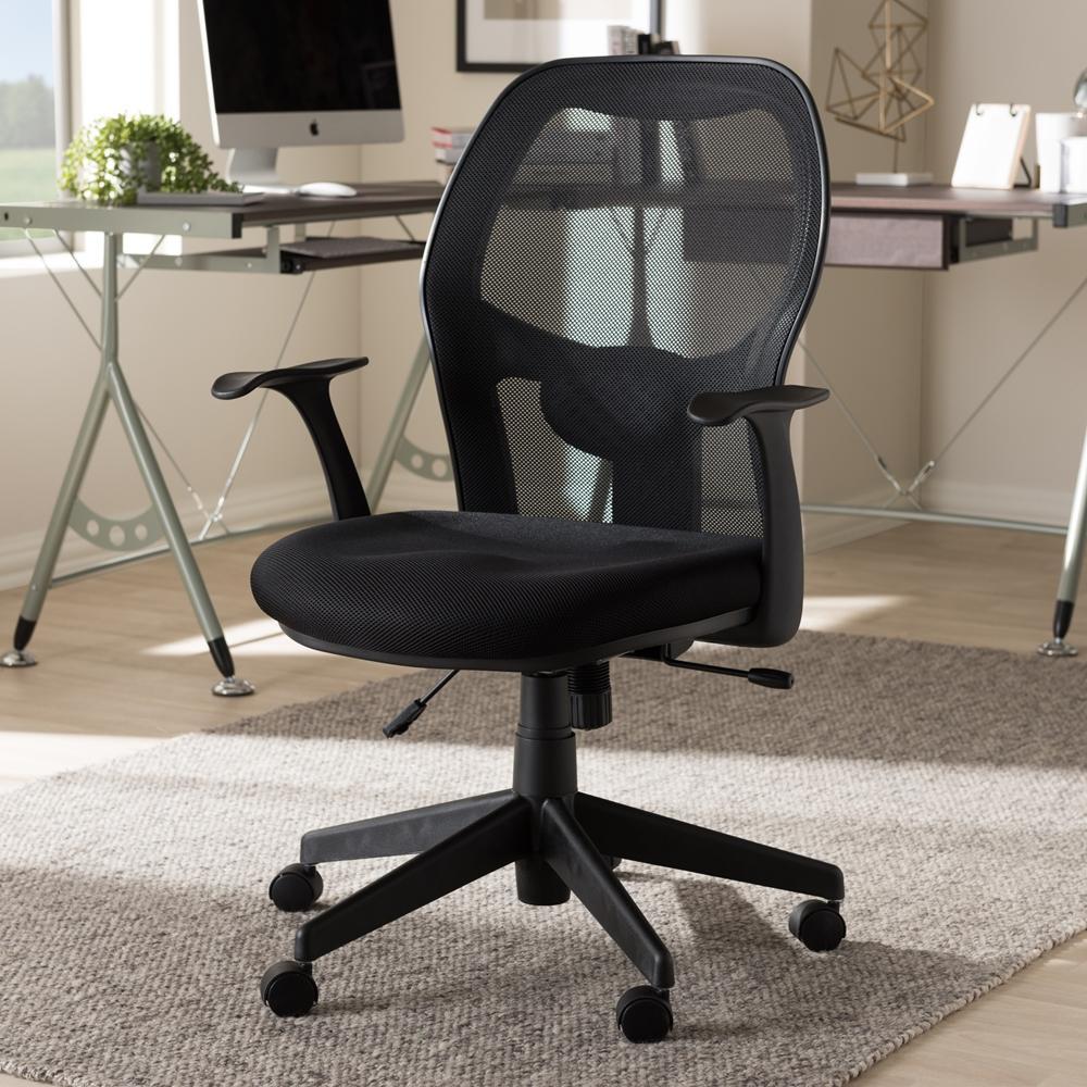 Kurtis Ergonomic Black Mesh Office Chair Products Mesh Office
