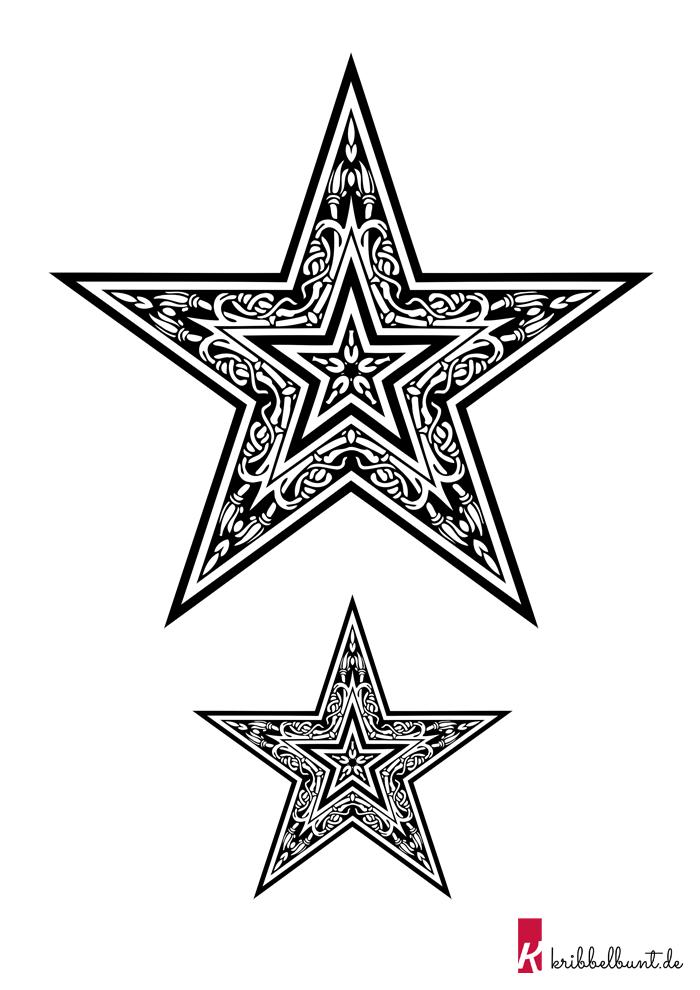 Sterne Malvorlagen Zum Ausdrucken