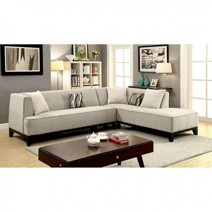 Furniture Of America Sofia Ii Sectional Las Vegas Furniture Online