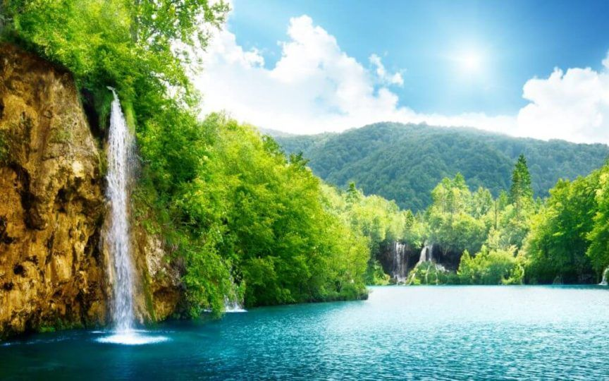 Nature Wallpaper 10 1024 640 Fav Images Amazing Pictures Waterfall Wallpaper Scenery Wallpaper Nature Wallpaper