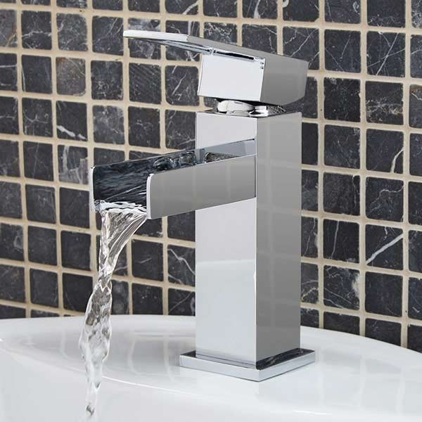 Oasis Waterfall Basin Mixer Tap Basin Mixer Taps Basin Mixer Amazing Bathrooms