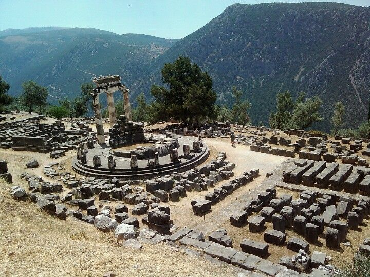 I would LOVE to go to Delphi. We didn't have time for it on the honeymoon, so we need to go back!