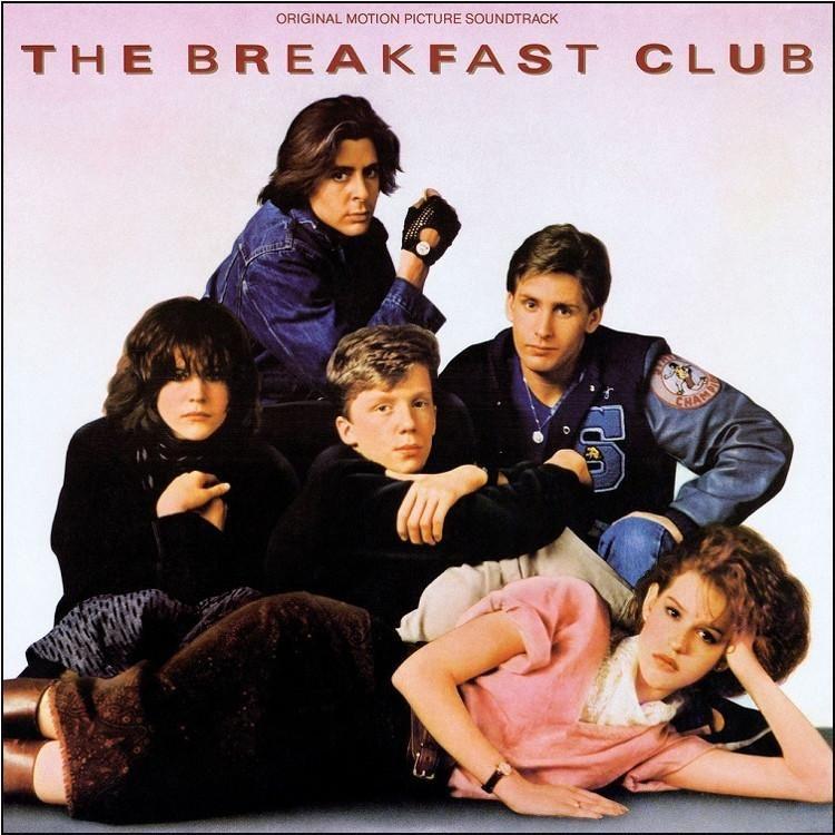 BREAKFAST CLUB vinyl decal Judd Nelson STICKER laptop car wall John Bender