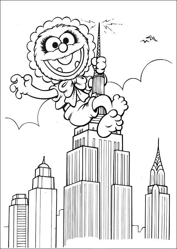 Muppets Coloring Pages 27 Baby Coloring Pages, Coloring Pages, Coloring  Books