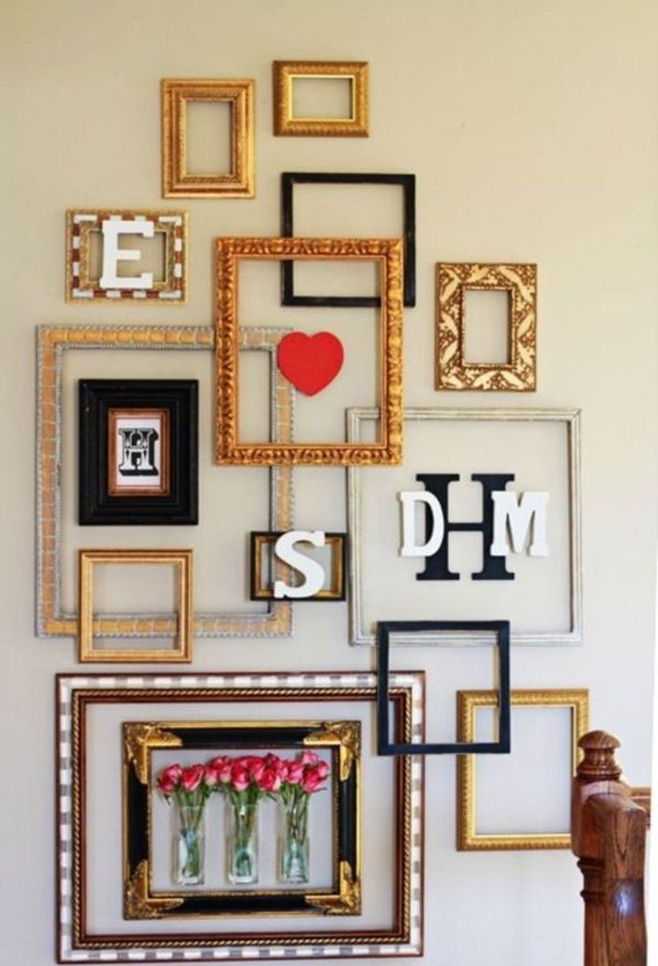 40 Creative Frame Decoration Ideas For Your House Gallery Wall