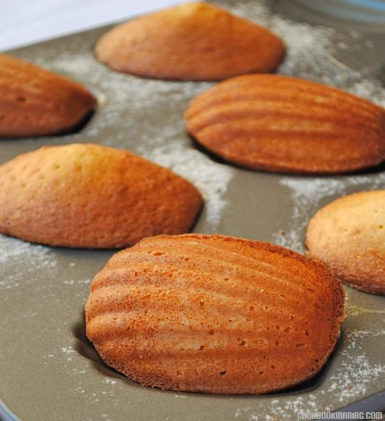 Madeleines Cookies Recipe