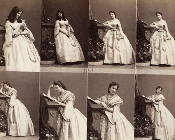 Photographies By Andr Adolphe Eugne Disdri Famous For Patenting The Carte De Visite Small Photographic Series Of Taken Same