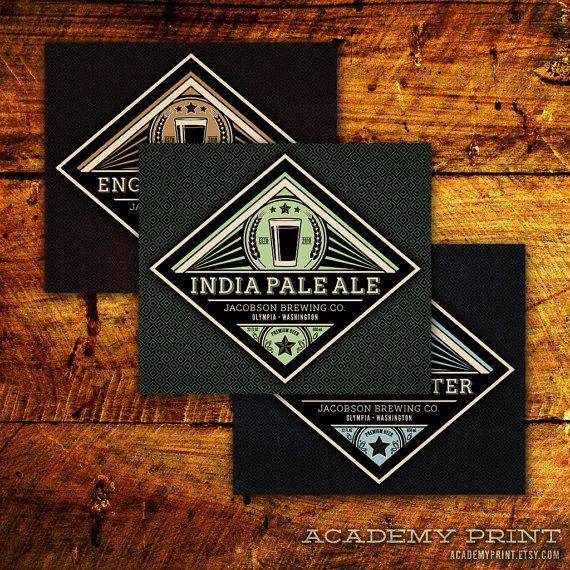 Printable Beer Label, Homebrew Label, Custom Beer Label