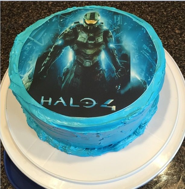 Halo Cake Halo Edible Topper Halo Party Supplies Halo Birthday
