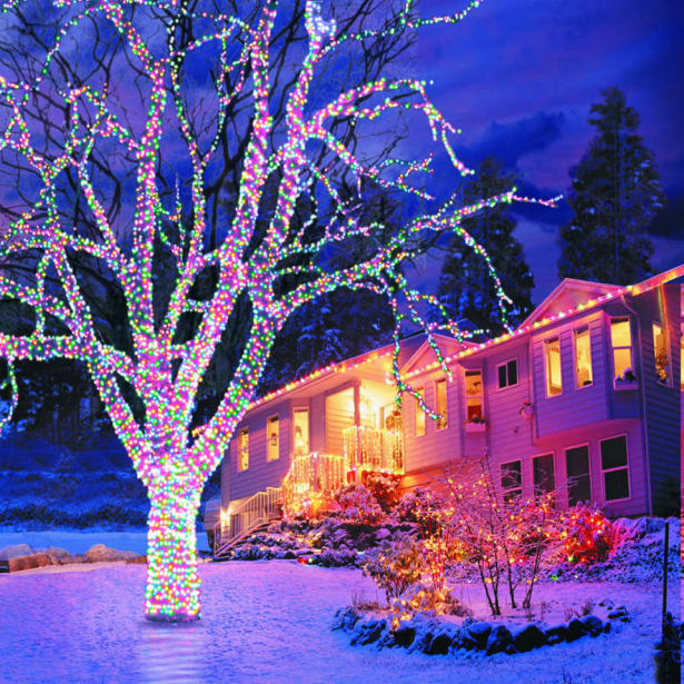 eclectic home decorating best indoor christmas tree lights