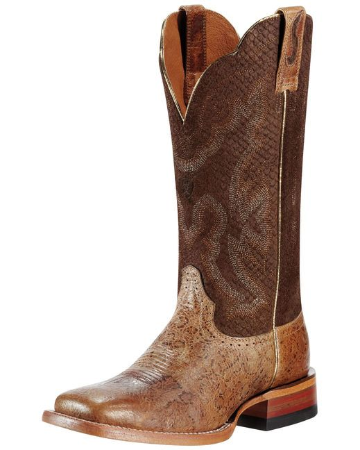 Women's Nitro Boot - Tan Metallic/Burnt Rust, Ariat Boots, Country  Outfitter,