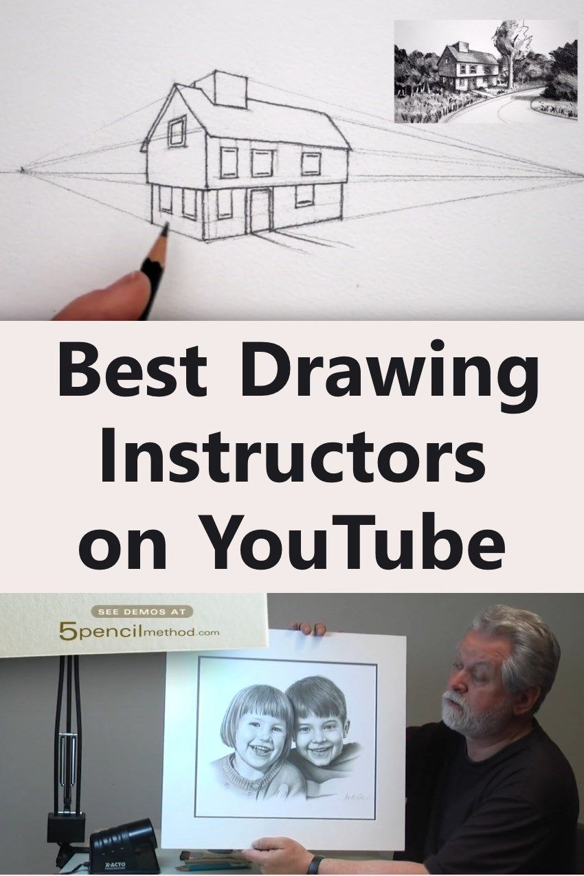 Top Drawing And Painting Youtube Instructors Learn To Draw And