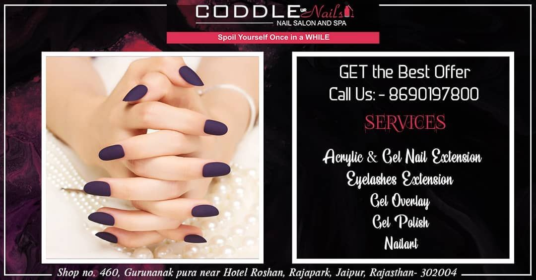 Get The Best Offer On Our Services Like 1 Acrylic Gel Nail Extension 2 Eyelashes Extension 3 Get T Nail Salon And Spa Gel Nail Extensions Nail Extensions