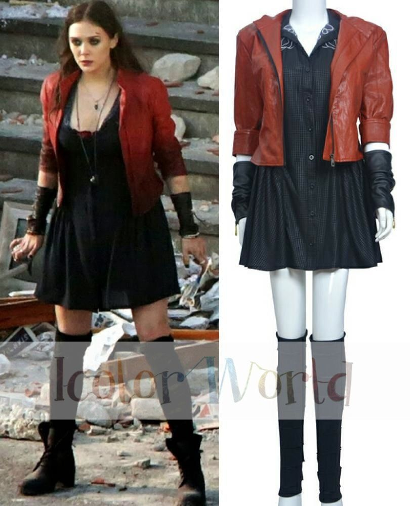 scarlet witch dress age of ultron - Google Search