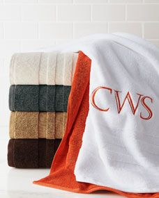 Burnished Chamois For Powder Room Ralph Lauren Palmer Towels