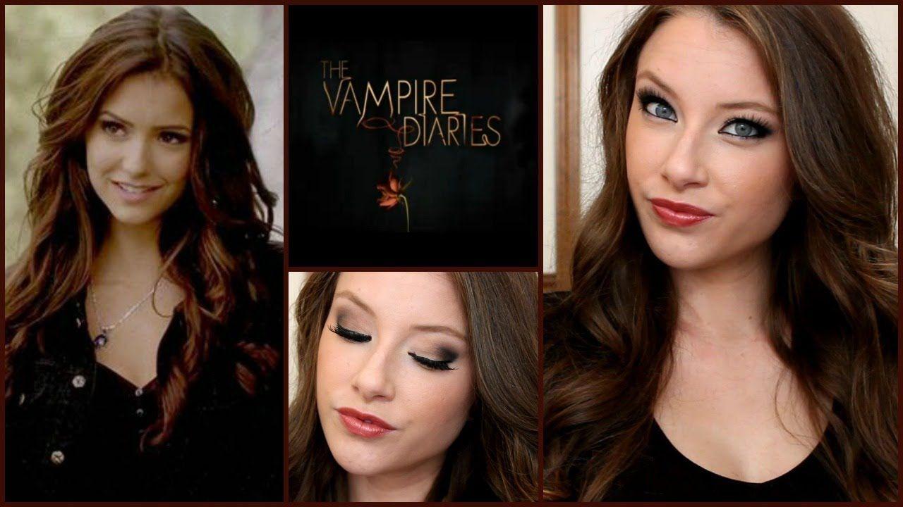 The Vampire Diaries Katherine Pierce Makeup Hair Tutorial Vampire Diaries Makeup Hair Tutorial Vampire Diaries