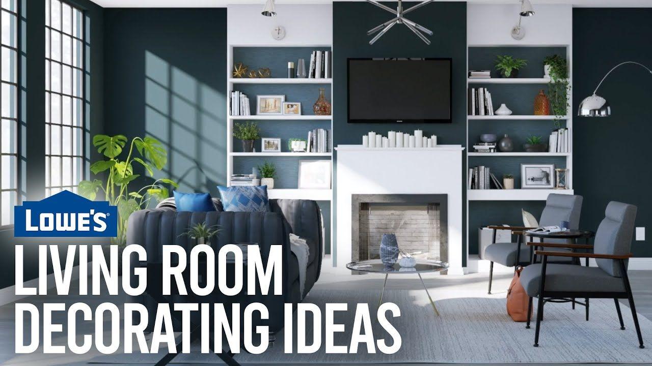 Living Room Decorating Ideas Lowe S Design Basics Wall Decor Livingroom Homedecor Decor Roomdecor Hom Bold Living Room Living Room Decor Living Room