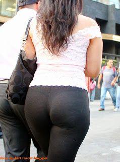 Pendeja en jeans blancos terrible ortoo - 2 3