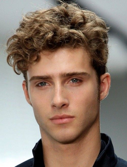 Superb Short Curly Hairstyles For Men 2012