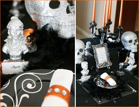 more chic halloween ideas h o l i d a y \u2022 l o v e Pinterest - halloween ideas party