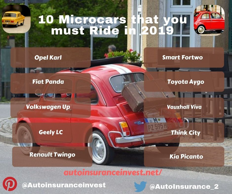 Top 10 Microcars That You Must Ride In 2019 Volkswagen Up Microcar Toyota Aygo