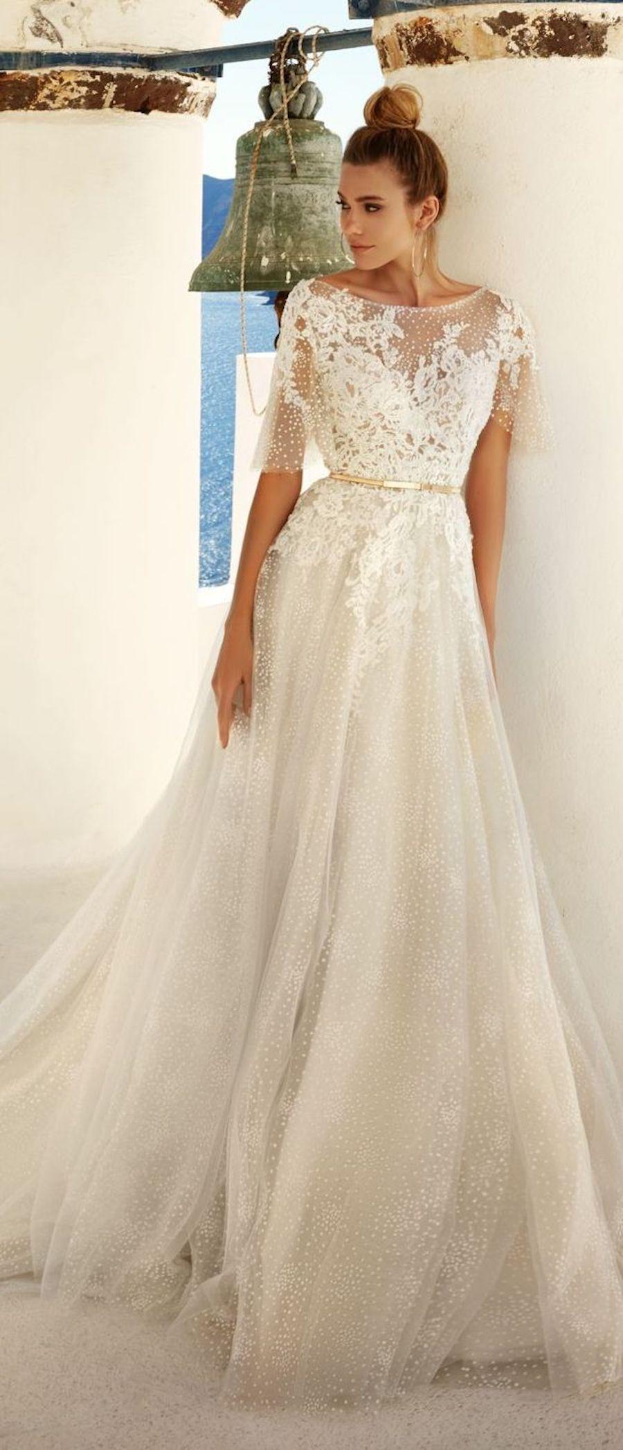 Lace up back wedding dress november 2018 Eva Lendel Wedding Dress Collection   Wedding November