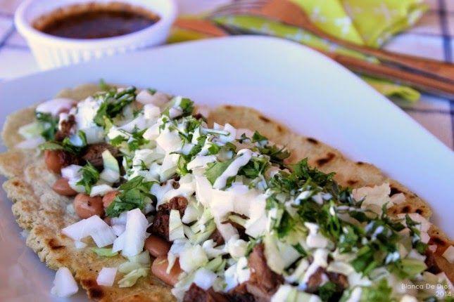 Huaraches Mexicanos de Carne Asada