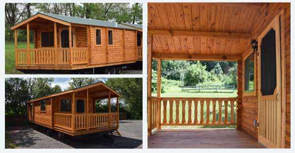 Is This the Most Affordable Park Model Log Cabin on the Market
