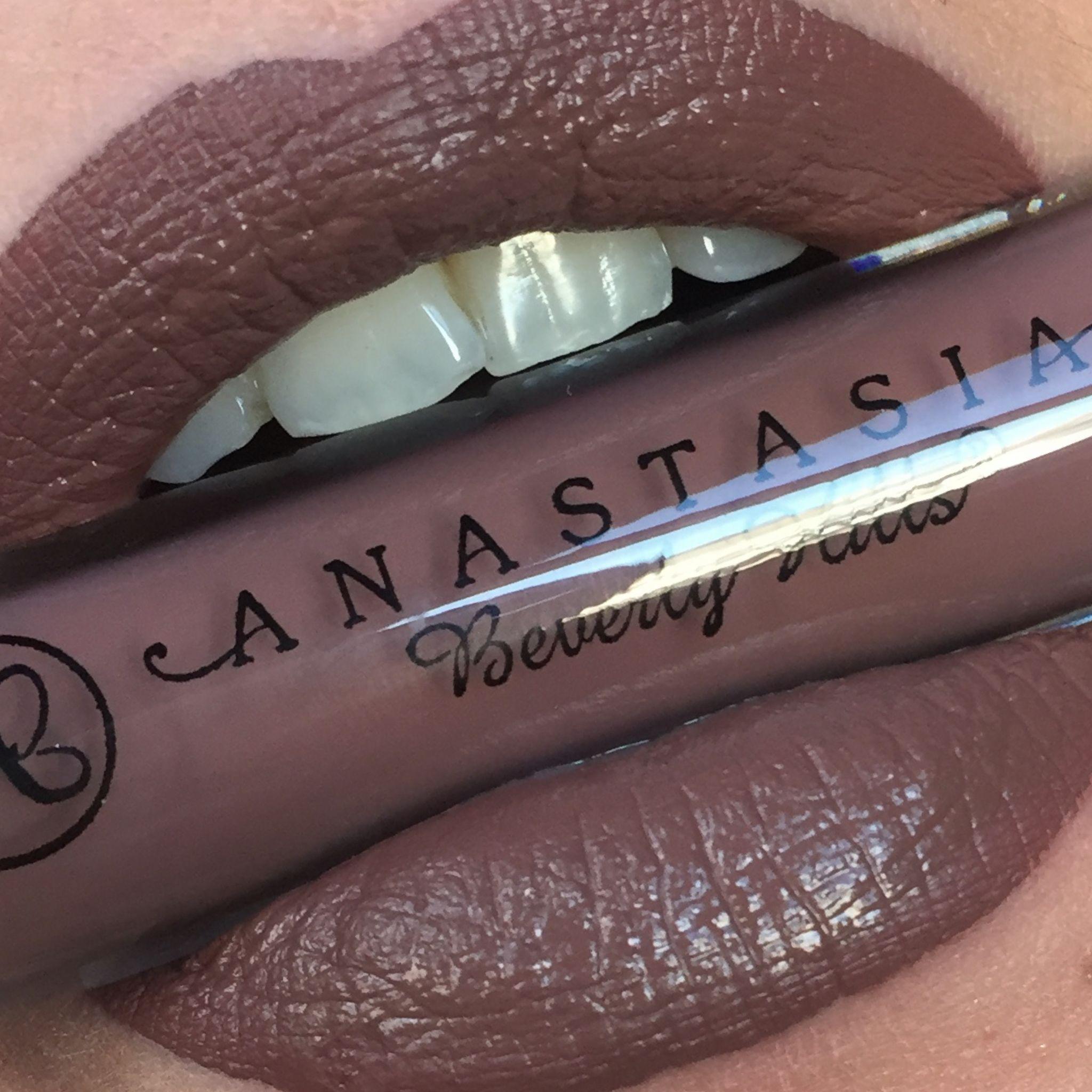 Anastasia Beverly Hills Liquid Lipstick Sepia LipSwatch