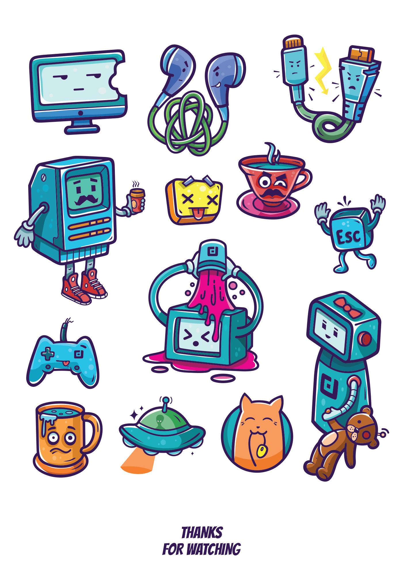 Opendev - Sticker Pack