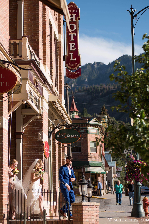 Beaumont Hotel. Ouray. Colorado. Mountain Wedding