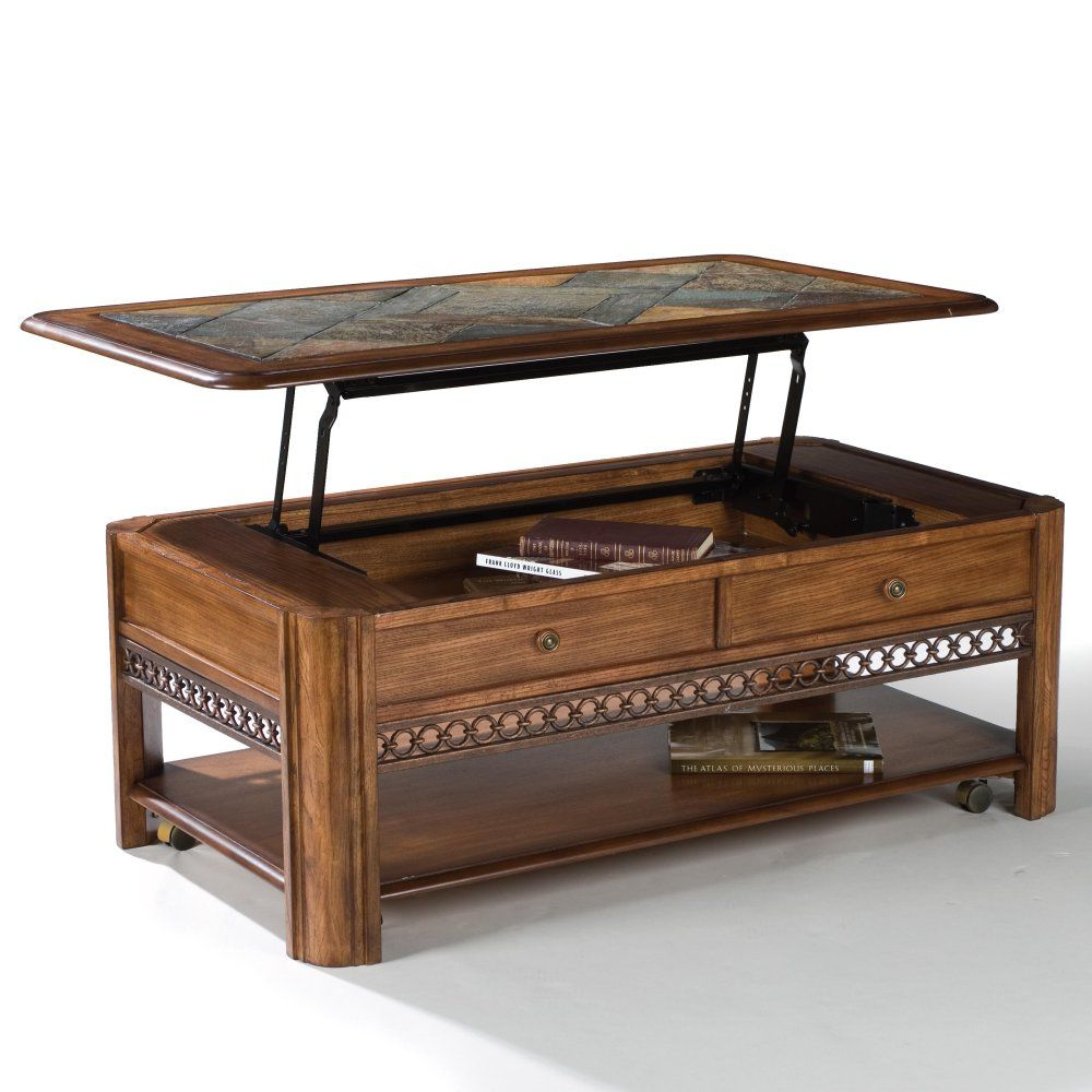Madison Lift Top Coffee Table Lift Up Coffee Table Coffee Table Wood Coffee Table With Casters [ 1000 x 1000 Pixel ]