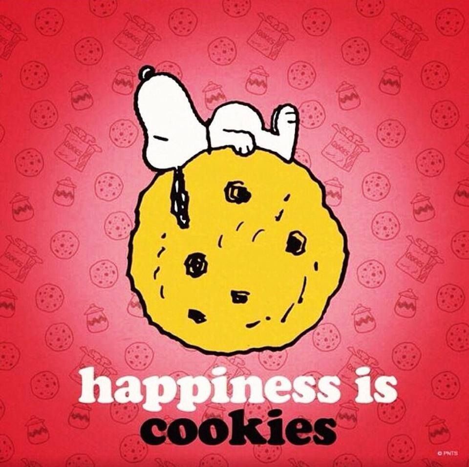 Happiness is cookies.