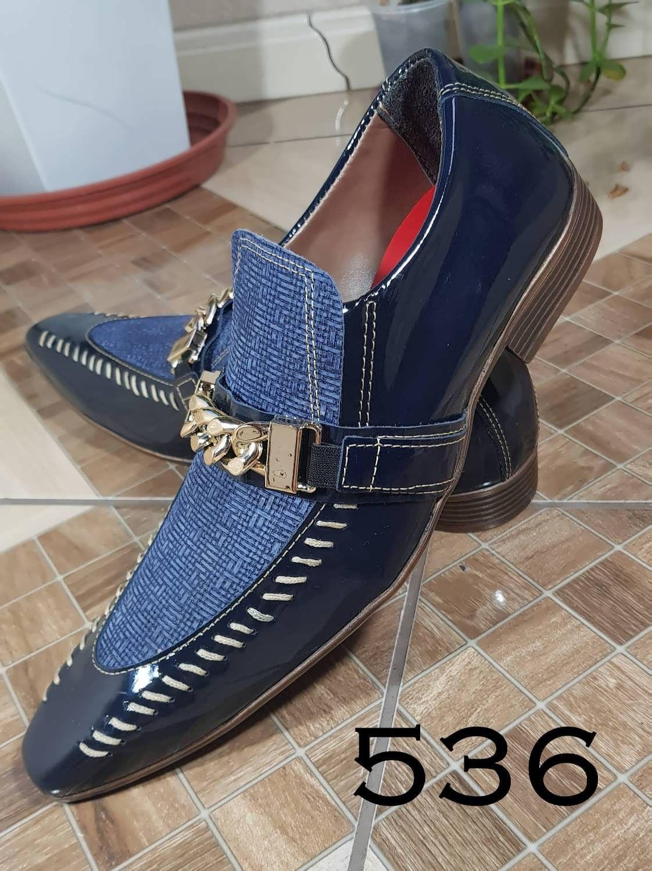 dc5e8f7bf Sapato Social Masculino, Sapatos Sociais, Sapatos Masculinos, Verniz, Azul  Marinho, Conforto