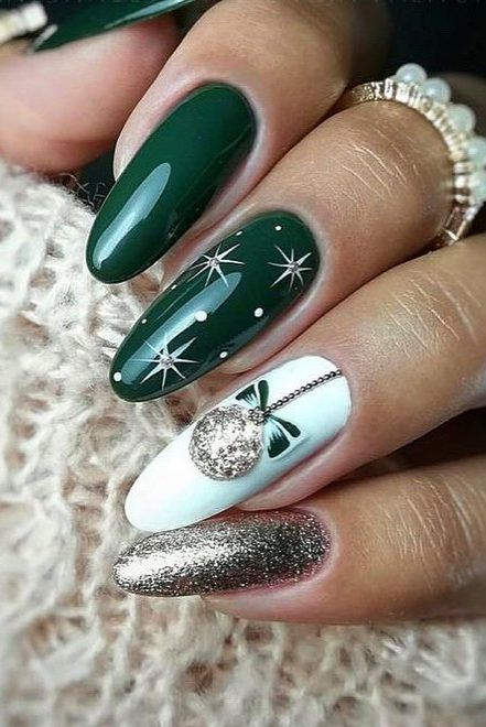 35+ Best And Merry Christmas Nail Art Ideas 2020! – Page 28 of 37