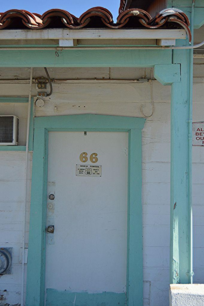 Door on the Route 66 Motel El Rancho Barstow CA & Door on the Route 66 Motel El Rancho Barstow CA   Route 66 ... pezcame.com