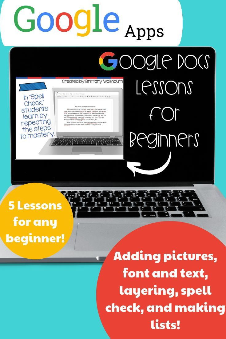 Google docs lessons for beginners technology lessons