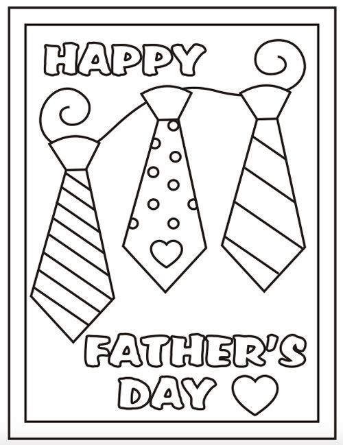 Fathers Day Coloring Pages Ideas Fathers Day Coloring Page
