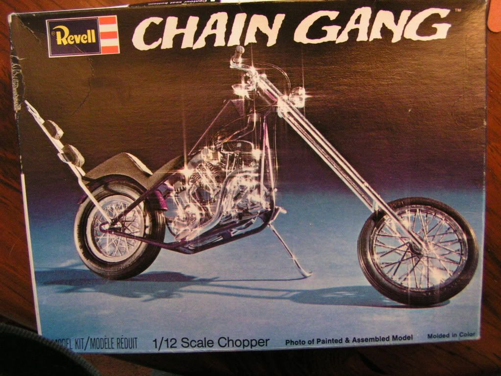 Vintage Choppers Thread Vintage Revell Chain Gang Chopper In
