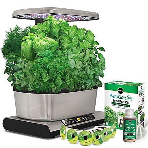 Garden all year with the soilfree AeroGarden Harvest Elite Indoor