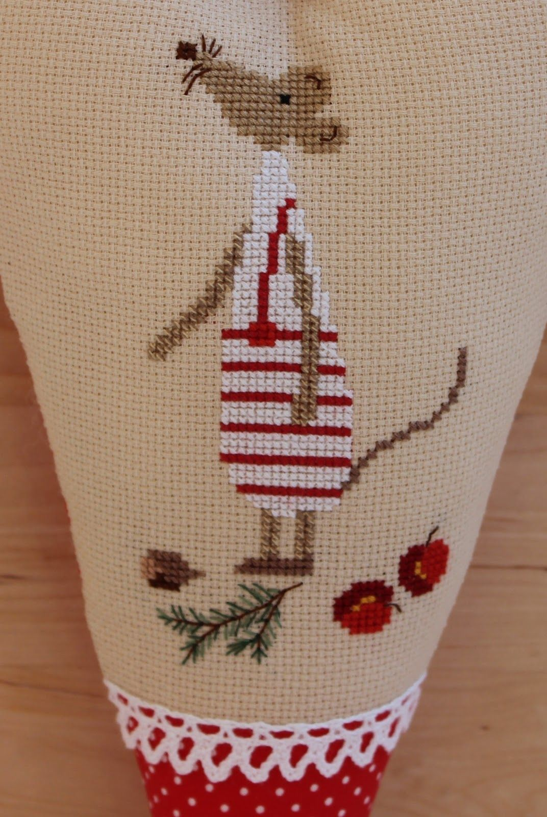 I always liked crossstitching i thing i was years old when my