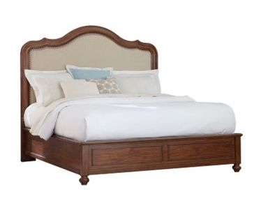 Buy Low Price Broyhill Hayden Place Sleigh Headboard Finish Golden Oak Size King H Beautiful Bedroom Furniture Bedroom Furniture Design Broyhill Furniture